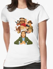 The World of Wes Anderson Womens Fitted T-Shirt