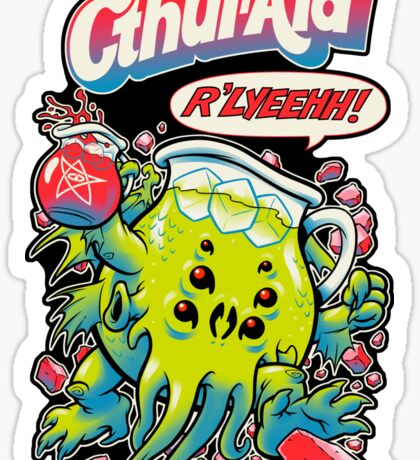 CTHUL-AID Sticker