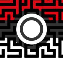 Pokeball Maze Sticker