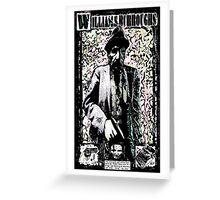 William Burroughs. Greeting Card