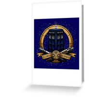 The Day of the Doctor Greeting Card