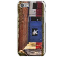 Sunset Flag Building iPhone Case/Skin