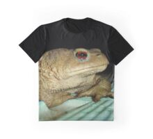 European Common Toad by Poolside At Night Graphic T-Shirt