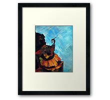 Untitled Woman Framed Print