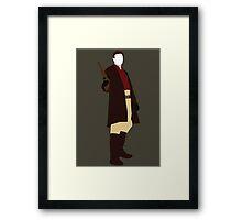 Malcolm 'Mal' Reynolds - Firefly Framed Print