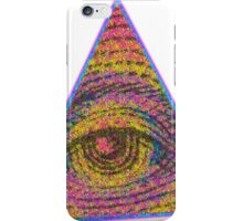 Eye of Providence Psychedelic iPhone Case/Skin
