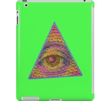 Eye of Providence Psychedelic iPad Case/Skin