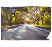 Wormsloe Plantation Poster