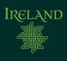 Ireland Celtic Knot T-Shirts and Stickers by TropicalToad