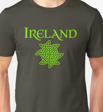 Ireland Celtic Knot T-Shirts and Stickers Unisex T-Shirt