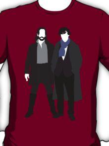 Ichabod Crane and Sherlock Holmes (BBC Version) T-Shirt