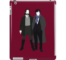Ichabod Crane and Sherlock Holmes (BBC Version) iPad Case/Skin