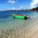 Caribbean Blue by John Dalkin