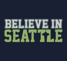 "VICTRS ""Believe In Seattle"" Kids Clothes"