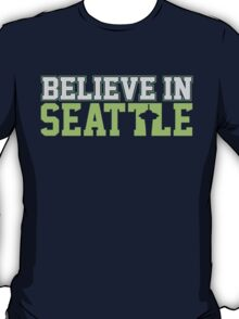 "VICTRS ""Believe In Seattle"" T-Shirt"