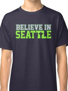 "VICTRS ""Believe In Seattle"" Classic T-Shirt"