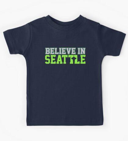 """VICTRS """"Believe In Seattle"""" Kids Tee"""