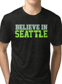 "VICTRS ""Believe In Seattle"" Tri-blend T-Shirt"
