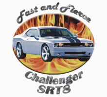 Dodge Challenger SRT8 Fast and Fierce T-Shirt