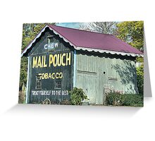 Mecca Mail Pouch Greeting Card