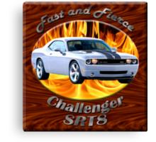 Dodge Challenger SRT8 Fast and Fierce Canvas Print