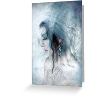 Under Ice Greeting Card