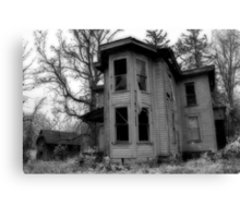 Ghostly Abode Canvas Print