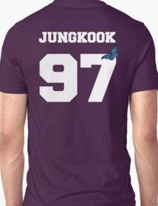 BTS- JUNGKOOK 97 Line Butterfly Jersey Unisex T-Shirt