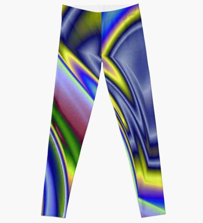 Abstract Rainbow Colourful Background Pattern Leggings