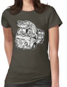 Streamer Junkies Logo Tee Womens Fitted T-Shirt