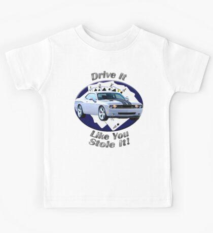 Dodge Challenger SRT8 Drive It Like You Stole It Kids Tee