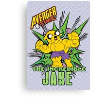 Avenger Time - The Incredible Jake Canvas Print