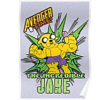 Avenger Time - The Incredible Jake Poster