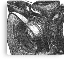Camera ala Nikon Canvas Print