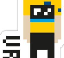 Pixel Peloton VROOM Sticker
