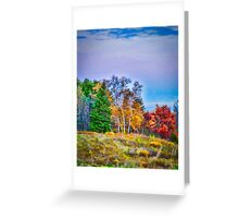 Painted Autumn Greeting Card
