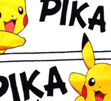 PIKA PIKA PIKA CHU Sticker