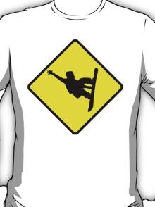 Snowboarder Crossing T-Shirt