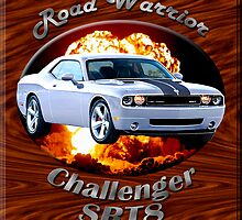 Dodge Challenger SRT8 Road Warrior by hotcarshirts