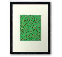 Holly & Ivy Framed Print