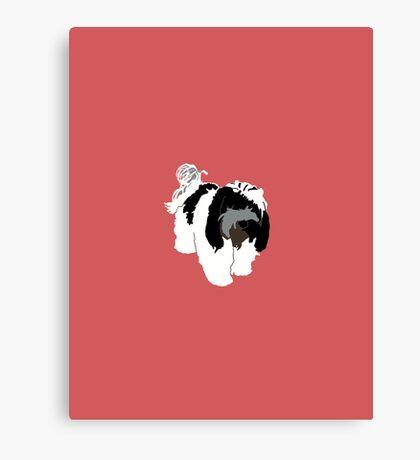 Light Red Puppy Canvas Print
