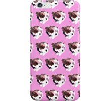 Pink Puppy Pattern iPhone Case/Skin