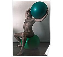 Olympus In His Livingroom  Poster