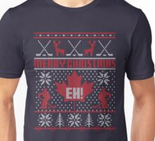 Canadian Christmas Ugly Sweater Unisex T-Shirt