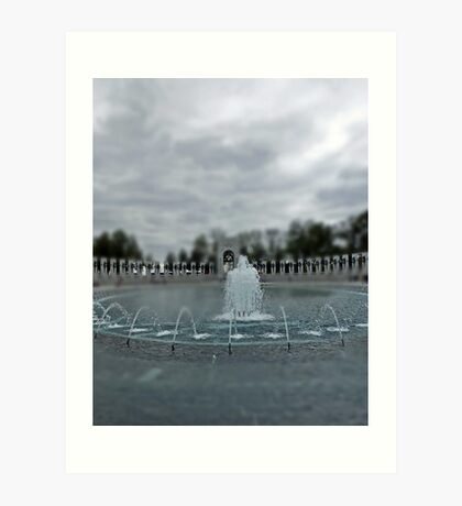 World War II Memorial - Washington D.C. Art Print