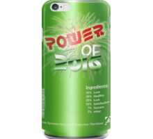 Power Of 2016 Green Drink iPhone Case/Skin