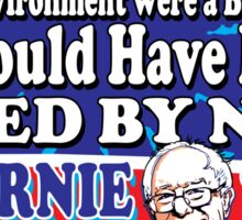 Bernie Sanders For The Environment Sticker