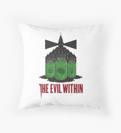 The Evil Within Throw Pillow