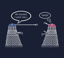 Dalek Liar - Love Version, T shirt by BlueShift