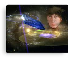 Dr Who In Space Canvas Print
